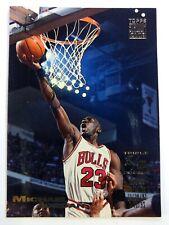 1993-94 Topps Stadium Club Triple Double Michael Jordan #1, Chicago Bulls, HOF