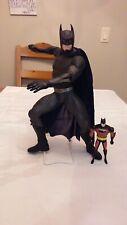 """VINTAGE 13"""" 1995 DC COMICS KENNER BATMAN & 5"""" 1998 ACTION FIGURE"""