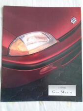 Geo Metro range brochure 1996 USA market