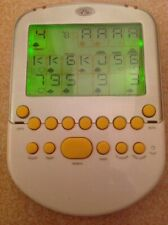 Radica Big Screen Solitaire Electronic Handheld Game Yellow 2008 Lighted Screen