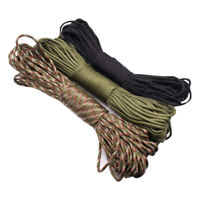 High Quality 100FT 7Strand Core Paracord Parachute Cord Outdoor Survival Tool