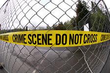 SCENA DEL CRIMINE/Halloween/APRILE Fool / SCHERZO/Polizia FARE NON CROCE