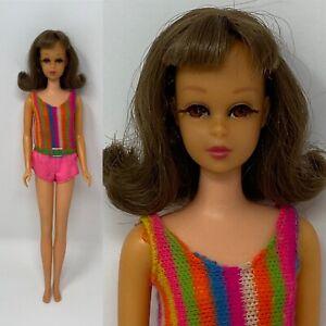 BEAUTIFUL Vintage Barbie FRANCIE TNT Brunette DOLL With Original Hair String