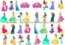 32 x DISNEY PRINCESS STAND UP cupcake toppers birthday Party cake decorations