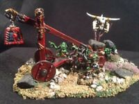 Warhammer Fantasy Orc Rock Lobber Metal Painted HQ Metal OOP 1992Citadel GW
