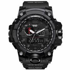 SMAEL WATCH Digital Wrist Sport Series LED for Men Waterproof 1545 BLACK