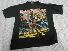 Iron Maiden - The Number of the Beast  Shirt - XL