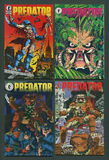 Predator Mini-series Set (1-4) Dark Horse 1989 1st Prints NM