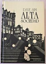 Cerebus - Alta Sociedad - Dave Sim - Ediciones Ponent Mon - Tomo Tapa Dura