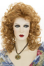 Ginger Red Long Medium Curly Wigs