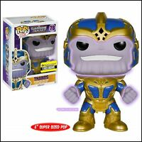 "FUNKO POP! GUARDIANS OF THE GALAXY #78 THANOS VINYL 6"" FIGURE GLOW-IN-THE-DARK"