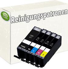 5x XL REINIGUNGSPATRONEN mit CHIP für CANON IP3300 IP3500 IP4200 IP5200R IP4300