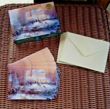 Thomas Kinkade Victorian Christmas Ii Partial Set 12 Holiday Cards 12 Envelopes