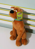 SCOOBY DOO CHARACTER SOFT TOY PLUSH TOY TAGS SITTING 34CM TALL HANNA BARBERA!