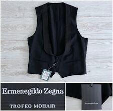 "BNWT $1025 Wool & Mohair ""Trofeo Mohair"" Torino Formal Tuxedo Vest, 40R 38R 50R"