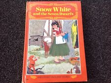 Snow White And The Seven Dwarfs vintage 1968 hardcover lovely Paul Hamlyn RARE