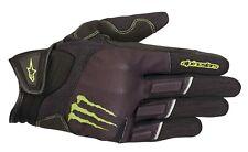 Alpinestars Monster Raid Gloves Gr. M kurze Motorradhandschuhe schwarz grün