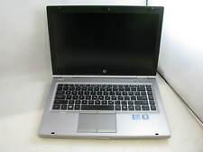 "HP 8460p 14"" Laptop 2.5GHz Core i5 2nd Gen 4GB RAM (Grade B No Battery)"