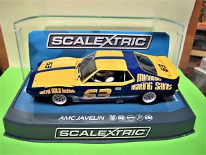 "Scalextric  AMC Javelin  "" SCCA Trans Am 1972  N° 63 ""  Collins    Ref.  C3876"