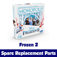 PICK YOUR PARTS - Monopoly Frozen 2 II Edition Board Game SPARES / REPLACEMENTS