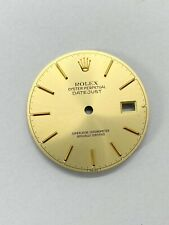 Genuine Rolex Oyster DateJust Gold Dial - for 36 mm Watches