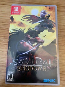 Samurai Shodown (Nintendo Switch, 2020) COMPLETE - SHIPS FREE