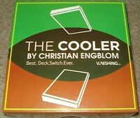 THE COOLER DVD & GIMMICK-US SOLD-CHRISTIAN ENGBLOM MAGIC TRICK CARDS DECK SWITCH