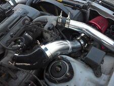"CXRacing For Toyota MK4 Supra 2JZGTE 2JZ-GTE CAI 3.5"" Air Intake Pipe + Filter"