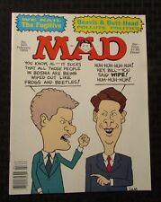 1994 MAD MAGAZINE #325 NM Beavis & Butthead Parody