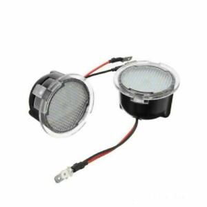LED Under Side Mirror Puddle Light for Ford Edge Fusion Flex Explorer Mondeo New