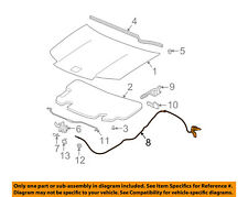 Saturn GM OEM 03-07 Ion Hood-Release Cable 15146296