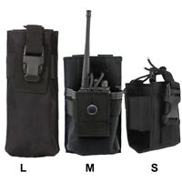 Versatile Radio Holder Interphone Case Molle Walkie Talkie Holster Tool Pouches