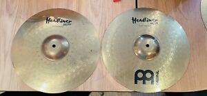"""Meinl Hi Hat 14"""" Cymbals Headliner Brass"""