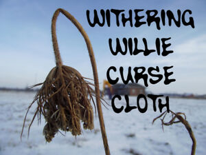 Withering Willie Penis Shrinking Manhood Impotence Voodoo Curse Cloth Spell Kit
