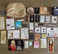 30+ Skin & Beauty Samples Deluxe Travel Size Sephora Ulta Cosmetic Bag