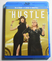 New THE HUSTLE BLU RAY DVD COMBO Anne Hathaway Rebel Wilson COMEDY MOVIE