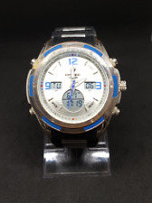 Vintage analog digital Bistec watch japan movement china made very big 90's