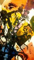 "Original African-American 16x20 Acrylic Canvas Painting "" Fellowship"""
