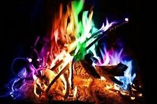 Color Your Fire Magical Flames Adds Colorful Flames To A Campfire Fire Pits