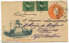 ARGENTINA, PREPAID POSTAL CARD 3 CENTAVOS, BUENOS AIRES, 1900, + 2 X C2        m