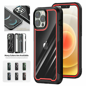 Clear Shockproof Bumper Defender Case For iPhone 13 12 Pro Max 11 XR XS 876 Plus