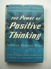 Norman Vincent Peale~THE POWER OF POSITIVE THINKING~1ST/DJ~1952