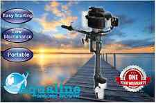 New AquaLine® 3.9hp Outboard Motor 4-Stroke Air Cooled