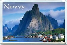 NORWAY - Fjords FRIDGE MAGNET