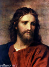 Heinrich Hofmann Jesus Christ  Handmade Oil Painting repro