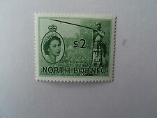 Elizabeth II (1952-Now) Mint Hinged North Bornean Stamps