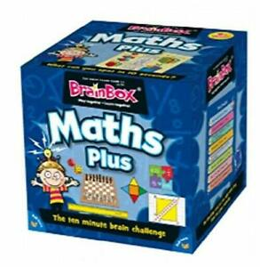 Brainbox Maths Plus Card Game *NEW* Free UK Delivery - Full size game, not mini