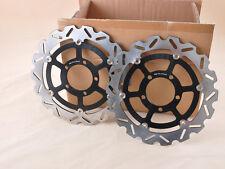 Disque de frein avant rotor moto noir pour GTR 1400 08-09 ZZR 1400 06-07