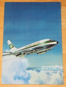 Vintage Aer Lingus (Ireland) Boeing 737-200 Airline Issued Postcard