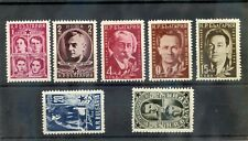 BULGARIA Sc 728-34(MI 776-82)*F-VF LH 1951 SET $25